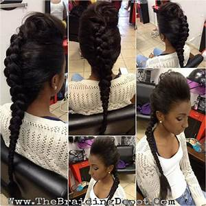 1000+ images about Natural Braid Updo's on Pinterest | Two ...