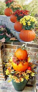 25, Splendid, Diy, Outdoor, Fall, Decorations