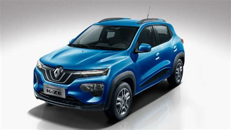 renault elektroauto 2020 2020 renault kwid electric makes debut drivespark news