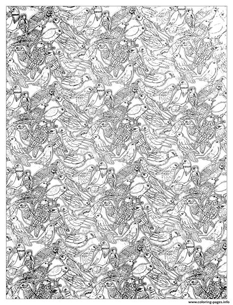 printable complex coloring pages plenty birds complex coloring coloring pages printable