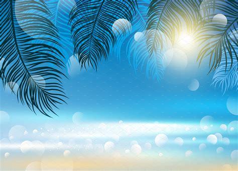 Backgrounds For by Summer Background Design Illustrations Creative Market