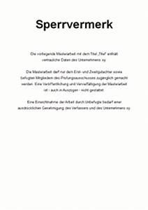 Einverständniserklärung Interview Bachelorarbeit : vertraulichkeitserkl rung sperrvermerk f r die masterarbeit ~ Themetempest.com Abrechnung