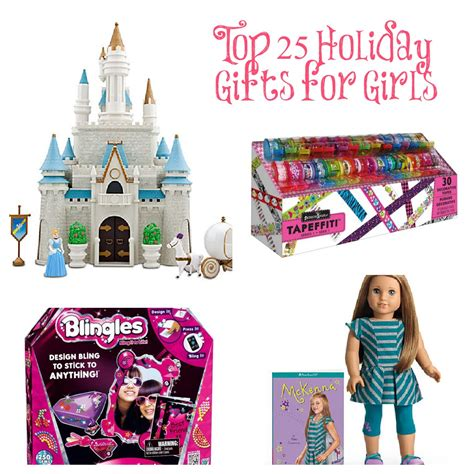 Top 25 Gift Ideas For Girls This Holiday Season  Classy Mommy