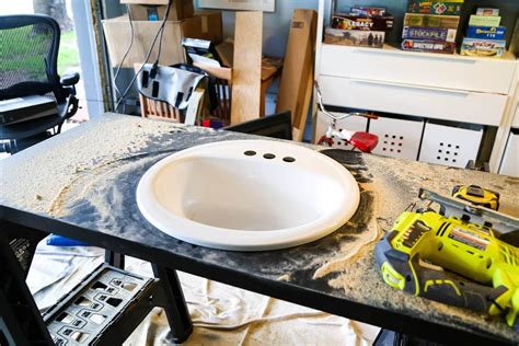 How To Replace Countertops by How To Replace A Bathroom Countertop Renovations