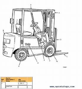 Yale Truck B810 Gdp  Glp16 030