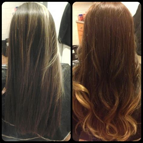 Before And After To Brown by Healthy Hair Is Beautiful Hair Before And After