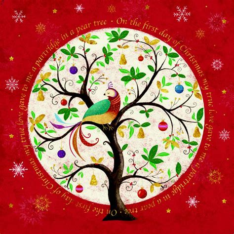 Apples and pears need similar care and they are both trees particularly suited for cooler areas. Pack of 8 Partridge In A Pear Tree NSPCC Charity Christmas Cards | Cards