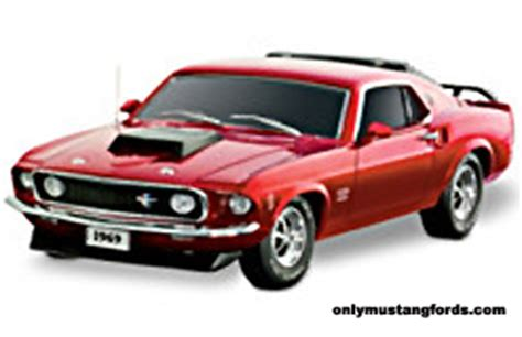 Diecast Boss 429 1969 And 1970 Ford Mustang Boss 429