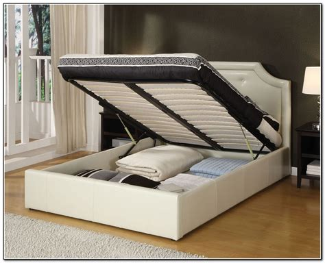 Gorgeous King Size Bed Frame With Storage With Spacious