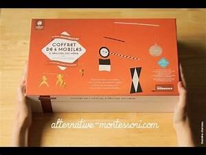 Coffret De Massage Nature Et Decouverte : alternative montessori coffret des 4 mobiles nature et ~ Premium-room.com Idées de Décoration