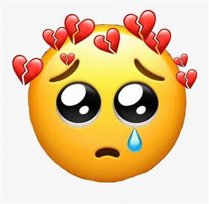 Emoji Sad Broken Pain Tear Heart Hurt