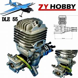 Dle Engine Dle55 55cc Gasoline Engine For Rc Airplane Zy01