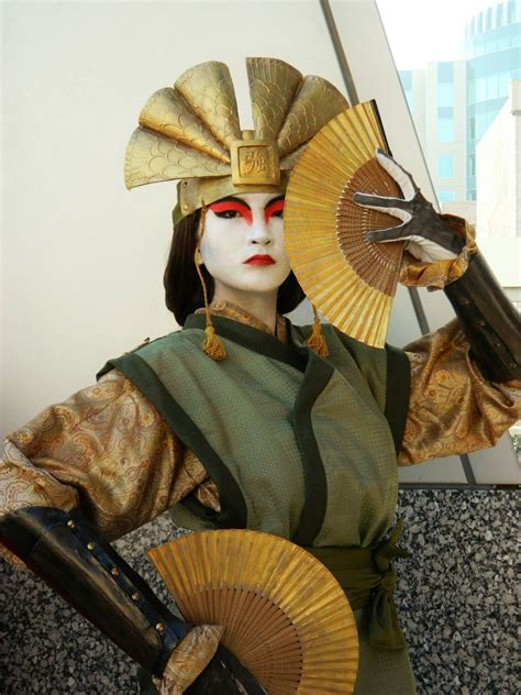 Avatar Kyoshi Cosplay Cosplays And Costumes And Geek Clothing Oh My Pinterest Avatar