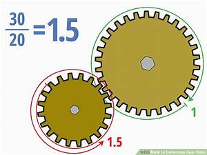 4 Easy Ways To Determine Gear Ratio  With Pictures