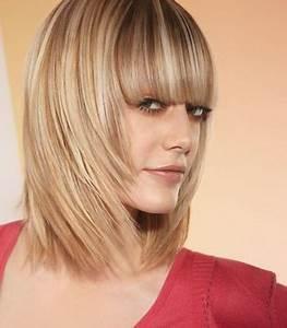 Coupe Degrade Femme : coupe de cheveux femme mi long d grad avec frange coiffure pinterest ~ Farleysfitness.com Idées de Décoration