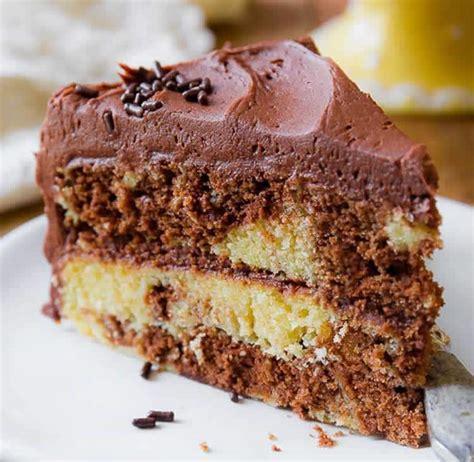 cake marbre au chocolat delicieux gateau moelleux au
