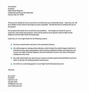 31 sample business proposal letters pdf doc sample for Free business proposal letter