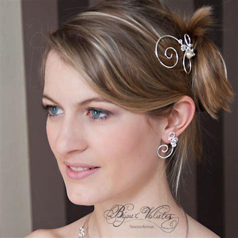 accessoire cheveux mariage pic 224 chignon mariage volute bijoux volutes mariage