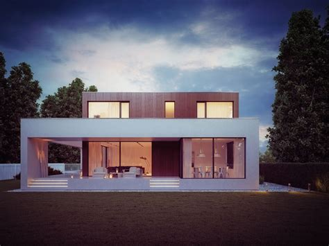 home architecture plans wooden cube house by 81 waw pl architecture design