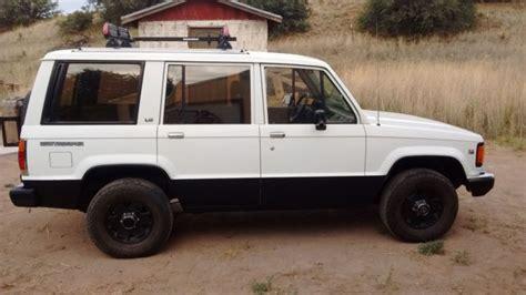 cool ls for sale 1989 isuzu trooper ls 4x4 manual v6 rust free nm truck