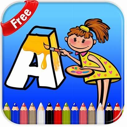 Coloring App Pages Abc 1024 Bingo Bash