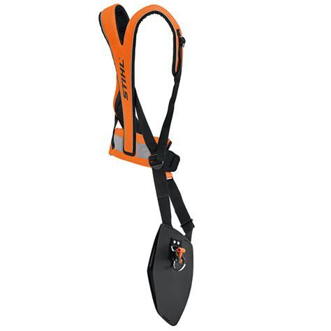 harnesses and protective equipment stihl advance plus universal harness fluorescent orange