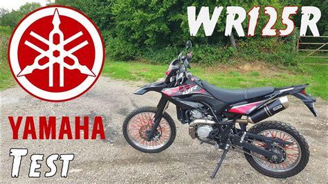 meilleur 125 4 temps surement le meilleur trail 125cc 4 temps quot yamaha wr125r quot