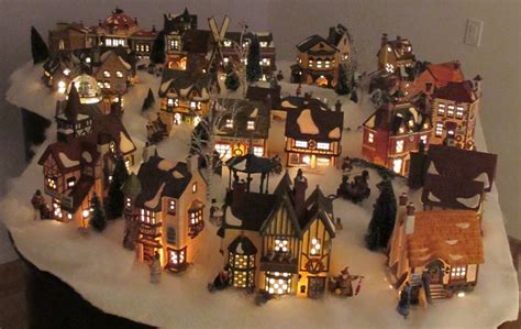 amazing christmas village display pictures gallery