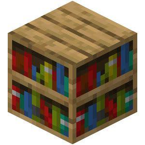 Bookcase Recipe by Bookshelf Official Minecraft Wiki