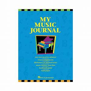 Compare Hal Leonard My Music Journal Student Assignment ...