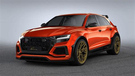 modified bhp audi rs    subtle dignified suv