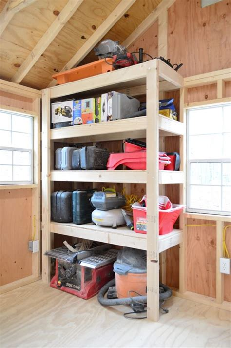 Garage Shelving Projects by Diy Garage Storage Ideas Projects Decorating Your