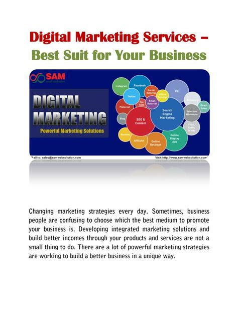 Digital Marketing Services by Ppt Digital Marketing Services Best Suit For Your