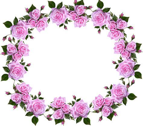 gambar bingkai bunga clipart vina gambar