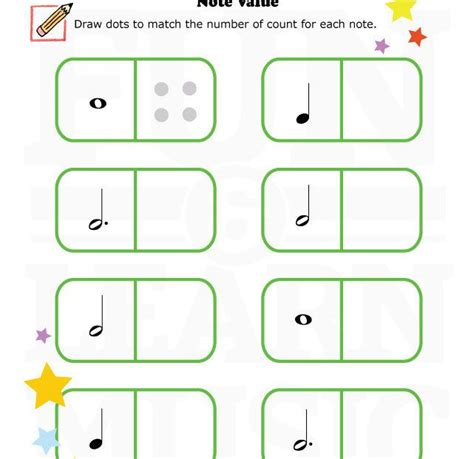 do you need a note value worksheet for your students note value worksheets
