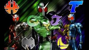 W-B-X ~W-Boiled Extreme~ - Kamen Rider W OP - Male Version ...  Kamen