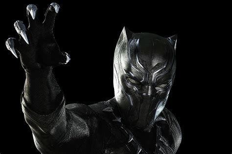 Every Shot Of Black Panther In 'civil War' Was Cg