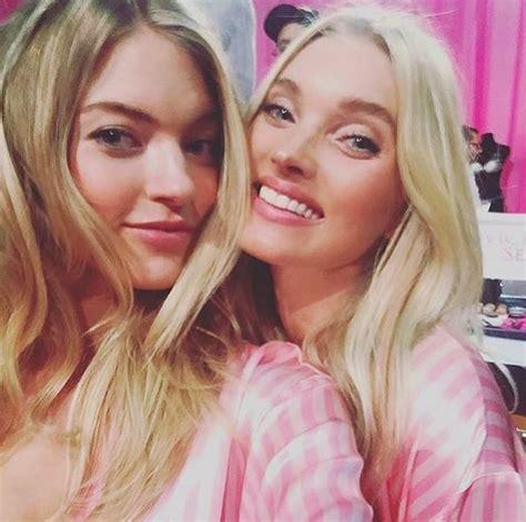 Martha Hunt and Elsa Hosk | Victoria's Secret Fashion Show ...