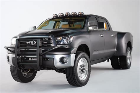 toyota works  diesel  heavy duty tundra variants
