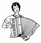 Accordion Coloring Printable Retrolicious Burlesque Instrumentals Dionysius Dj Cinema Mix French sketch template