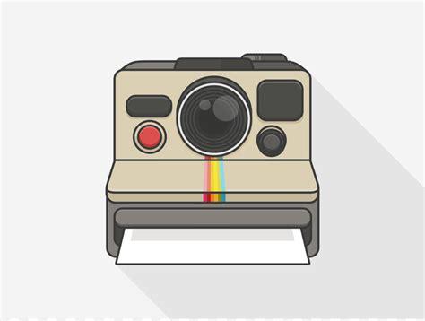 polaroid camera drawing png