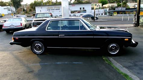 Mercedes benz 250ce (w114) coupe. W114 W115 Mercedes Benz 280C Classic Youngtimer Coupe Import Export - YouTube