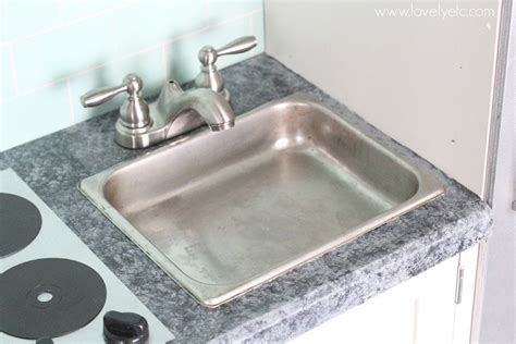 play kitchen sink faucet diy play kitchen from an entertainment center lovely etc
