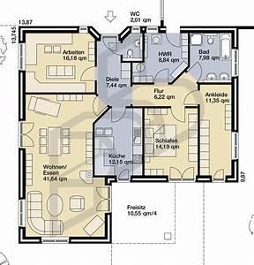 Bungalow Grundriss 130 Qm : hausidee vom typ bungalow nr 10111 von parc bauplanung gmbh ~ Orissabook.com Haus und Dekorationen