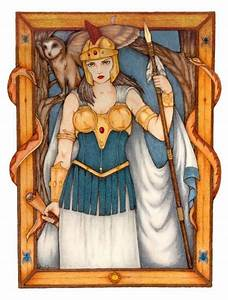 Mythman's Athena, Goddess of Wisdom