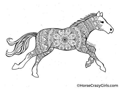 Printable Horses Coloring Pages Coloring Pages And Printables