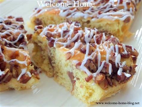 The butteriest, most delicious streusel coffee cake in all the land, this is a copycat recipe for the classic sara lee butter coffee cake. Pecan Coffee Cake (With images) | Pecan coffee cake, Coffee cake, Coffee cake recipes