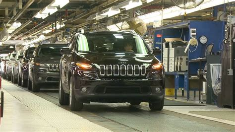 Chrysler Plant Belvidere by Jeep Production At The Belvidere Assembly Plant