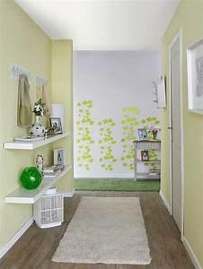 Farben Für Den Flur : fr hlingsinspiration f r eine frische dekoration im flur ~ Sanjose-hotels-ca.com Haus und Dekorationen