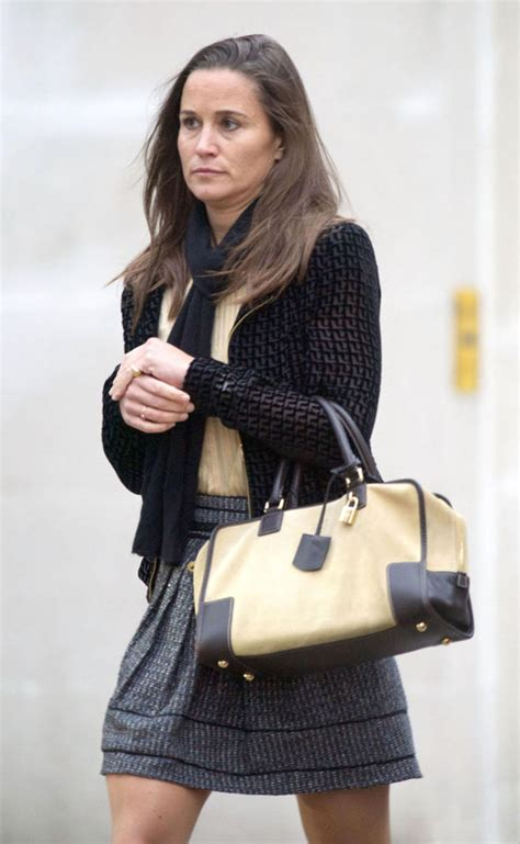 Pippa Middleton Looks Weary As She Steps Out For First